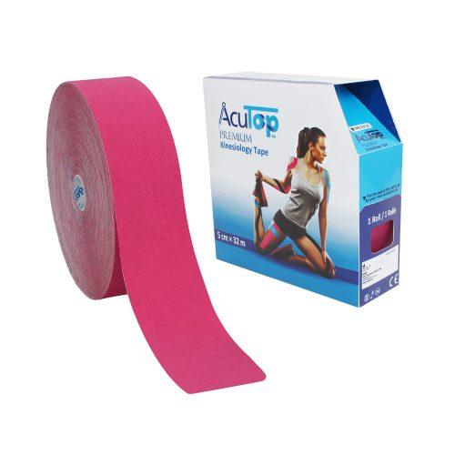 AcuTop® Premium Kinesiologitejp, 5 cm x 32 m, rosa