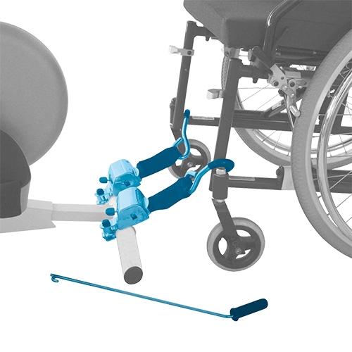Stabiliseringsbälte till rullstol