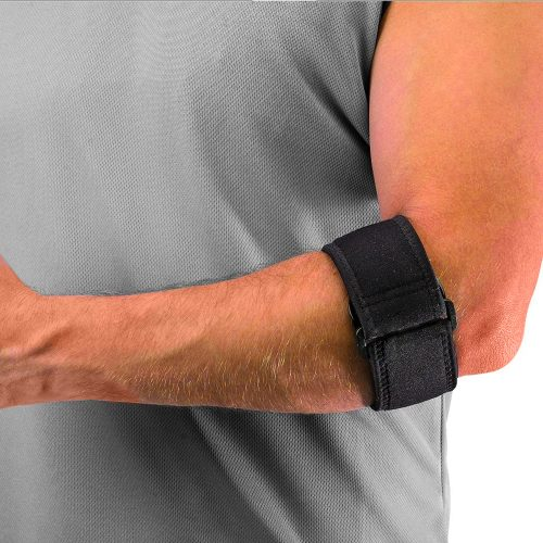 Mueller Tennis Elbow Support med gel, armbågssupport