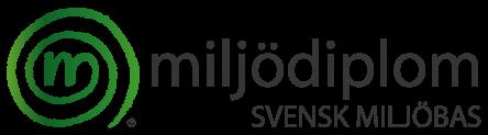 Miljödiplom Logo Dark