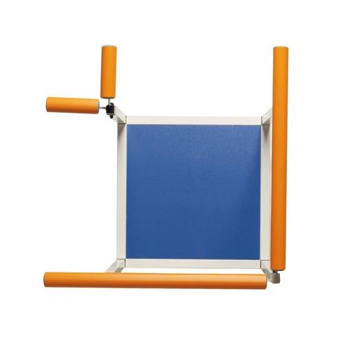 Plattform för 2 trappmoduler, hörn