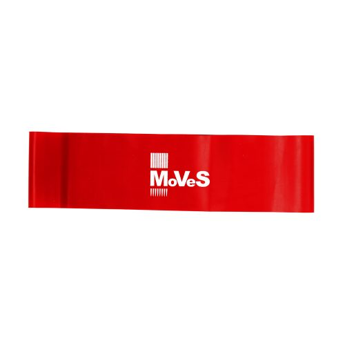 MoVeS Wide Loop, 7,5 x 30 cm, röd
